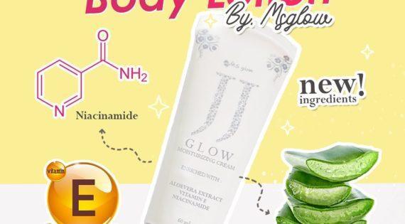 Brightening Body Lotion JJ Glow Moisturizing Cream