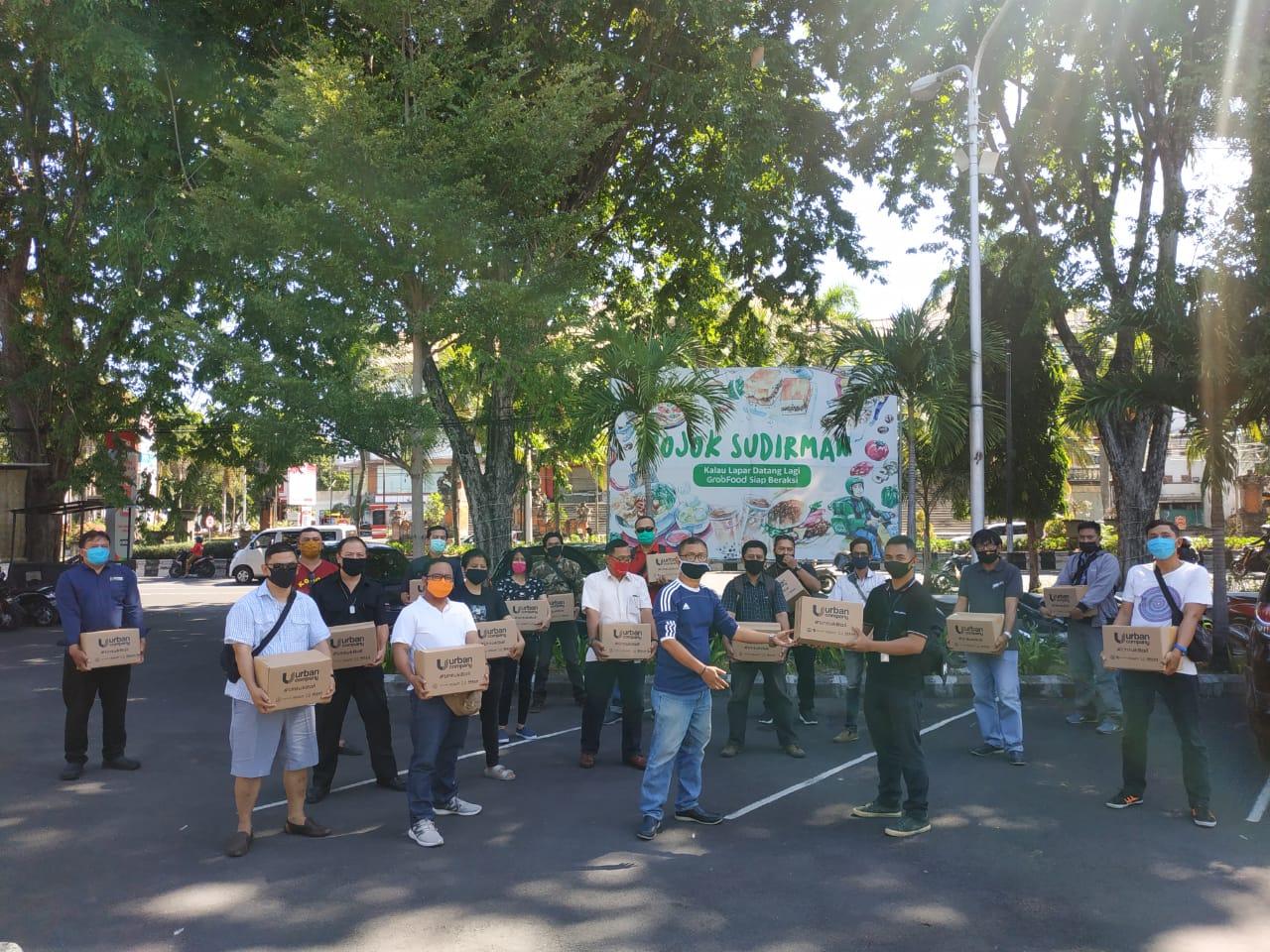 Pandemi, Jurnalis Bali Terima Donasi Paket Sembako